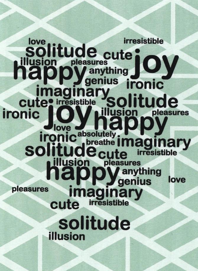 the pleasure of solitude